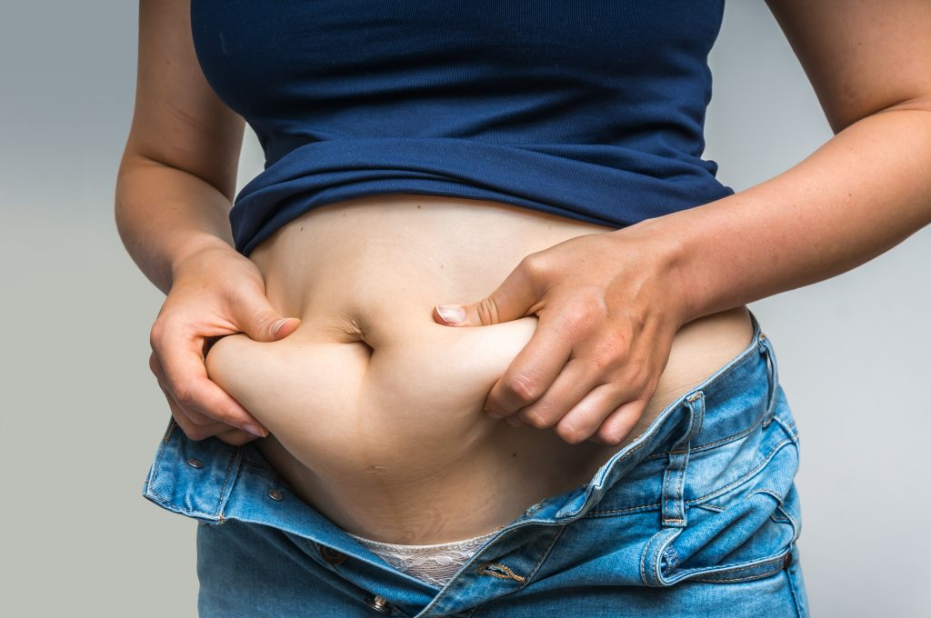 how to lose belly fat in perimenopause