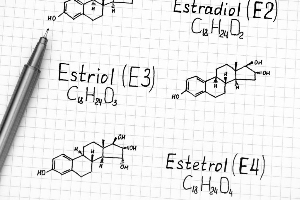 What is Estriol Made From
